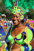 The 2010 West Indian American Day Carnival was held along Eastern Parkway, Brooklyn, NY on Monday Sept. 6, 2010. Photo by Errol Anderson.