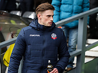 Bolton Wanderers' Joe Pritchard pictured before the match<br /> <br /> Photographer Andrew Kearns/CameraSport<br /> <br /> The EFL Sky Bet Championship - Derby County v Bolton Wanderers - Saturday 13th April 2019 - Pride Park - Derby<br /> <br /> World Copyright &copy; 2019 CameraSport. All rights reserved. 43 Linden Ave. Countesthorpe. Leicester. England. LE8 5PG - Tel: +44 (0) 116 277 4147 - admin@camerasport.com - www.camerasport.com