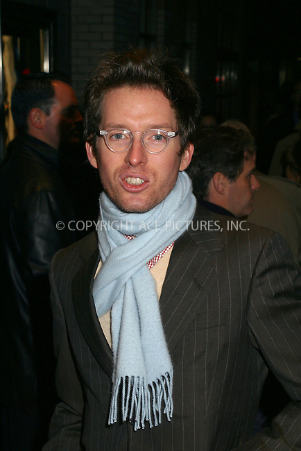 """Director Wes Anderson attending the New York premiere of """"Far From Heaven"""" in New York. November 5, 2002. Please byline: Alecsey Boldeskul/NY Photo Press.   ..*PAY-PER-USE*      ....NY Photo Press:  ..phone (646) 267-6913;   ..e-mail: info@nyphotopress.com"""