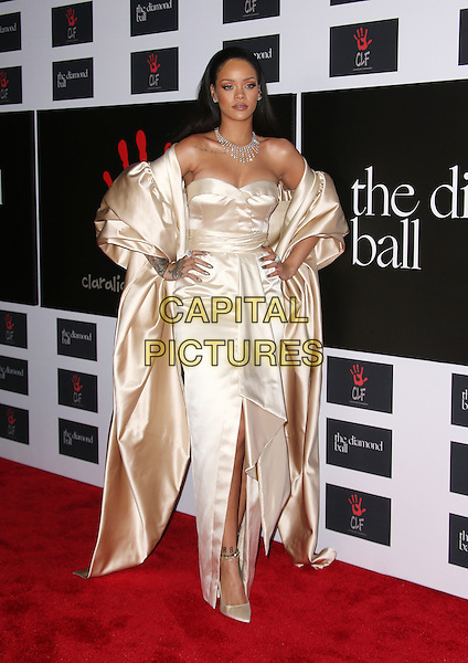 Santa Monica, CA - December 10 Rihanna Attending Rihanna and The Clara Lionel Foundation Host 2nd Annual Diamond Ball At The Barker Hanger On December 10, 2015. <br /> CAP/MPI/FS<br /> &copy;FS/MPI/Capital Pictures