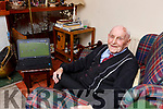 Former Dr Crokes and East Kerry Chairman Donie Sheahan  watching his beloved Crokes take on Templenoe on line during their SFC clash in Fitzgerald Stadium on Friday evening it was Kerry GAA's first ever pay per view County Championship game