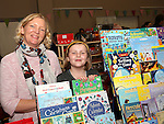 Vicky and Amie Gregory (Vicky's Little Book Worms) at the Cottage Market, St Peters.<br /> <br /> Photo - Jenny Matthews