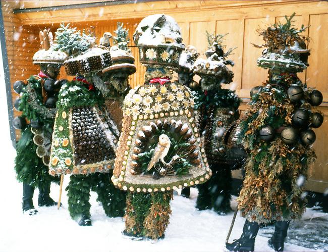Bad Silvesterklaus, Julian New Year, Appenzell, Switzerland