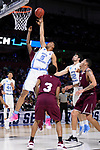 GREENVILLE, SC - MARCH 17: Tony Bradley (5) of the University of North Carolina puts up a shot against Texas Southern University during the 2017 NCAA Men's Basketball Tournament held at Bon Secours Wellness Arena on March 17, 2017 in Greenville, South Carolina. (Photo by John Joyner/NCAA Photos via Getty Images)