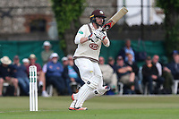 Mark Stoneman of Surrey hits four runs during Surrey CCC vs Essex CCC, Specsavers County Championship Division 1 Cricket at Guildford CC, The Sports Ground on 9th June 2017