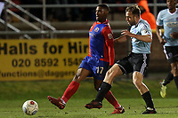 Andre Boucaud of Dagenham  during Dagenham & Redbridge vs Aldershot Town, Vanarama National League Football at the Chigwell Construction Stadium on 10th February 2018