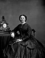 Miss Clara Barton.  Mathew Brady Collection.  (Army)<br /> Exact Date Shot Unknown<br /> NARA FILE #:  111-B-1857<br /> WAR &amp; CONFLICT BOOK #:  215