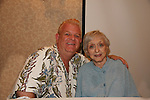 "Johnny Whitaker ""Scotty Baldwin"" GH and Family Affair & Celeste Holm - Loving - both appeared in Tom Sawyer together at 4th Annual Mid-Atlantic Nostalgia Convention in Aberdeen, Maryland. (Photo by Sue Coflin/Max Photos)"