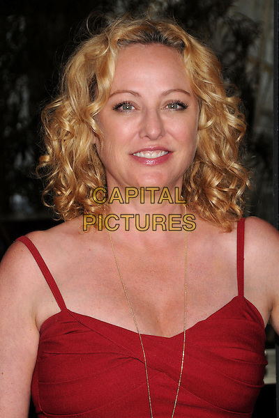 Virginia Madsen.WIGS Channel One Year Anniversary held at Akasha, Culver City, California, USA, 2nd May 2013..portrait headshot red gold necklace .CAP/ADM/BP.©Byron Purvis/AdMedia/Capital Pictures