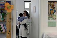 Roma 10 Ottobre 2018<br /> Il Ministro per la Famiglia e le disabilit&agrave; visita il centro di Medicina Solidale in Via Aspertini nel quartiere periferico Tor Bella Monaca, che assiste famiglie fragili  delle quali molte migranti, e le persone in stato di disagio negli ambulatori di strada