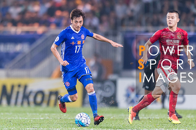 Eastern SC Midfielder Lee Hong Lim in action during the AFC Champions League 2017 Group G match between Eastern SC (HKG) vs Guangzhou Evergrande FC (CHN) at the Mongkok Stadium on 25 April 2017, in Hong Kong, China. Photo by Chung Yan Man / Power Sport Images