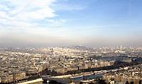Paris: Looking Northeast from Eiffel Tower.