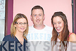 HAPPY: Having fun at the Con Curtin Festival in Brosna on Sunday were,.l-r: Catriona Downey, Brosna, Mike Linehan, Mountcollins, and Hannah.Downey, Brosna.