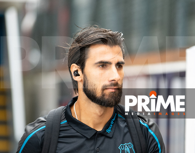 Everton Andre Gomes during the Premier League match between Crystal Palace and Everton at Selhurst Park, London, England on 10 August 2019. Photo by Andrew Aleksiejczuk / PRiME Media Images.
