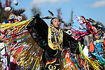 Native AMerican dancers perform for the crowd during the annual Nevada Day parade in Carson City, Nev. on Saturday, Oct. 29, 2016. Cathleen Allison/Las Vegas Review-Journal