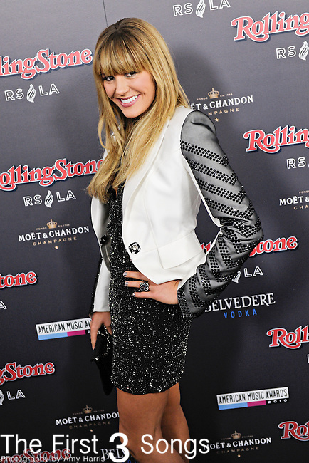 Grace Potter of Grace Potter and the Nocturnals attends the 2010 American Music Awards VIP After Party hosted by Rolling Stone Magazine at the Rolling Stone Restaurant & Lounge in Los Angeles, California.