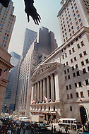 Manhattan, New York City, NY. October 20th 1987. <br />