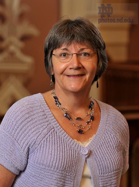 Barbara Turpin.Associate Dean of the Graduate School..Photo by Matt Cashore/University of Notre Dame
