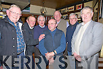 ..SPECIAL: A special birthday party was put on for Frank Dowling Ardfert in the Abbey tavern, Ardfert on Friday night. L-r: PJ Riordan, Gerard Mccarthy, Brendan Sinnott, Mike McCarthy, Thómas Dowling, Donal Dowling and seated centre birthday boy Frank Dowling.(Ardfert)................
