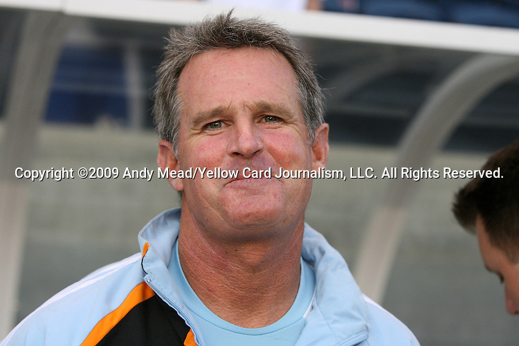 05 June 2009: Houston goalkeeper coach Tim Hanley. The Houston Dynamo defeated the Chicago Fire 1-0 at Toyota Park in Bridgeview, Illinois in a regular season Major League Soccer game.