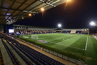 General view of the ground during Colchester United vs Yeovil Town, Sky Bet EFL League 2 Football at the JobServe Community Stadium on 2nd October 2018