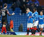 16.03.2019 Rangers v Kilmarnock: Steven Davis at full time
