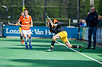 BLOEMENDAAL - Jelle Galema (Den Bosch)    tijdens de hoofdklasse competitiewedstrijd hockey heren,  Bloemendaal-Den Bosch (2-1) COPYRIGHT KOEN SUYK