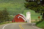 Barn and silo, Route 187, Sullivan County.