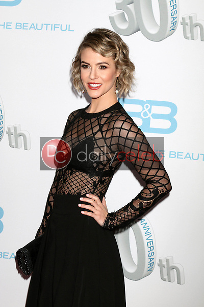 """Linsey Godfrey<br /> at the """"The Bold and The Beautiful"""" 30th Anniversary Party, Clifton's Downtown, Los Angeles, CA 03-18-17<br /> David Edwards/DailyCeleb.com 818-249-4998"""