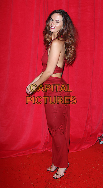 LONDON, ENGLAND - MAY 24:  Jennifer Metcalfe attends the British Soap Awards at Hackney Empire on May 24, 2014 in London, England<br /> CAP/ROS<br /> &copy;Steve Ross/Capital Pictures
