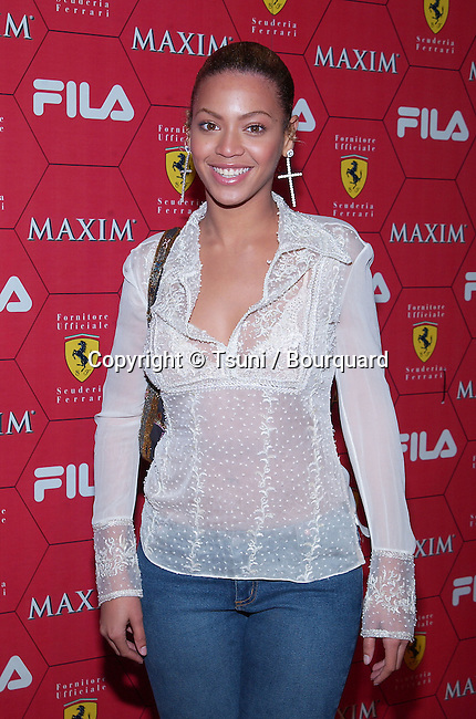Beyonce Knowles arriving at the Seduction Of Speed an evening with the magazine Maxim at the Lounge @ Astra in Los Angeles. March 14, 2002.           -            KnowlesBeyonce15.jpg