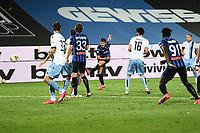 24th June 2020, Bergamo, Italy; Seria A football league, Atalanta versus Lazio;  Goal scored by Ruslan Malinovskyi for 2-2 in the 66th minute
