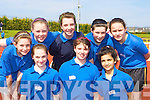 Competing at the Primary schools athletic championships in An Riocht track Castleisland on Thursday was front row l-r: Rebecca Lyons, Mary Brosnan, Aoife Walsh. Back row: Sarah Courtney, Siobhain Kelly, Amy Knight, Breda Mcmahon and Sharon Brennan Currow NS