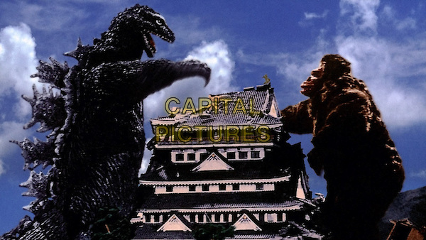 SCENE<br /> in King Kong vs Godzilla<br /> *Filmstill - Editorial Use Only*<br /> CAP/NFS<br /> Image supplied by Capital Pictures