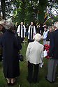 11/06/16<br /> <br /> One hundred years have passed since Private Charles Gordon Shaw was fatally wounded in the Battle of the Somme, but today is the first day his family have been able to grieve at his graveside.<br /> <br /> Full Story: https://fstoppressblog.wordpress.com/private_charles_shaw/<br /> <br /> <br /> That&rsquo;s because his grave was &ldquo;lost&rdquo; during a changeover in church vicars and when the Commonwealth War Graves Commission tried to place a headstone on his plot in 1926, the new vicar was unable to tell them where the body was buried.<br /> <br /> But today, thanks to detective work by his  niece, 83-year-old Dorris Innes from Spondon, together with an amateur historian who located the &lsquo;lost&rsquo; grave, Private Shaw&rsquo;s family were finally able to pay their respects to the war hero, with a commemorative service at his grave, exactly 100 years to the day since he was buried at Christ Church in Stonegravels, Chesterfield.<br /> <br /> All Rights Reserved, F Stop Press Ltd.