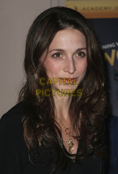 "MARIN HINKLE.An Evening with ""Two and a Half Men"" presented by the Academy of Television Arts & Sciences at the Leonard Goldenson Theater, North Hollywood, California, USA, 27 February 2008..portrait headshot.CAP/ADM/`CH.?Charles Harris/Admedia/Capital PIctures"
