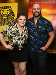"Ryann Redmond and guest attends the Broadway screening of the Motion Picture Release of ""The Lion King"" at AMC Empire 25 on July 15, 2019 in New York City."