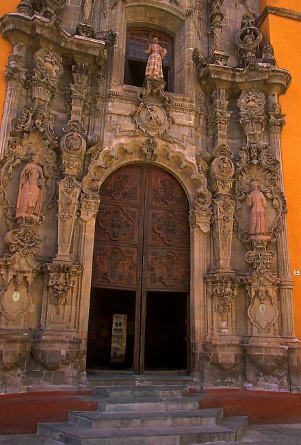 San Diego Church, Guanajuato, Guanajuato State, Central Highlands, Mexico, North America