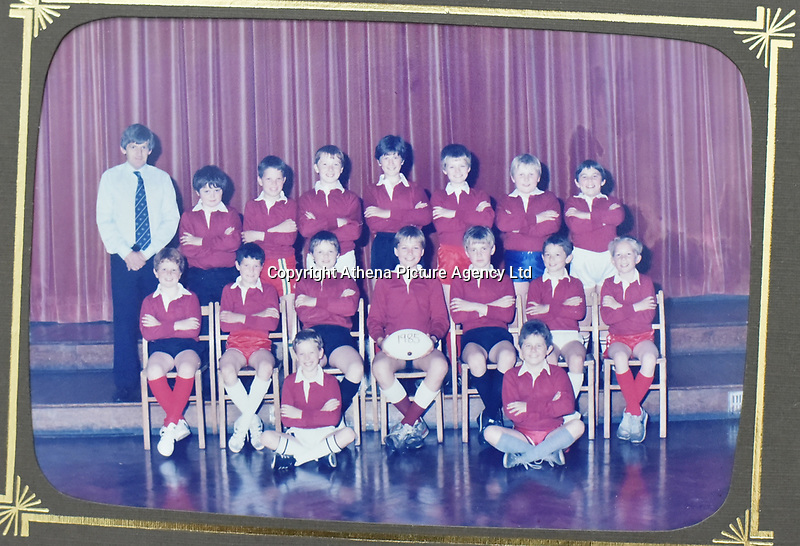 "Copy picture of Richard Best, middle row on right, at Baglan Primary<br /> Re: The parents of Richard Best, who died in an accident that left him with a serious head injuries after tripping over his own flip flop have paid tribute to him as ""a life-long Cardiff supporter who touched the hearts of everyone"".<br /> Around 1,000 will attend the funeral of Richard Best, who died in the accident in the early hours of July 3, 2018.<br /> ""He was so well loved by everyone."" said his mum Pam.<br /> ""I just can't believe how many hearts he touched. I find it hard to still accept it, at times I am in denial and other times I realise what has happened.""<br /> The family's home in Baglan, south Wales has been inundated with cards and flowers since Richard, who worked at the steelworks in Port Talbot, was found with a head injury."
