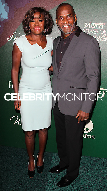 BEVERLY HILLS, CA, USA - OCTOBER 10: Viola Davis, Julius Tennon arrive at the 2014 Variety Power Of Women held at the Beverly Wilshire Four Seasons Hotel on October 10, 2014 in Beverly Hills, California, United States. (Photo by Celebrity Monitor)