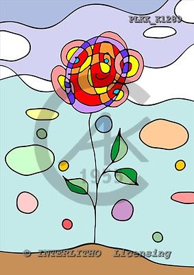 Kris, FLOWERS, paintings, PLKKK1289,#f#