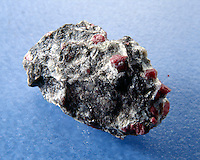 UNCUT RUBY - Corundum<br /> In matrix of bauxite<br /> Al2O3