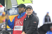 Danny Willett (ENG) on the 9th tee during Sunday's Final Round of the 148th Open Championship, Royal Portrush Golf Club, Portrush, County Antrim, Northern Ireland. 21/07/2019.<br /> Picture Eoin Clarke / Golffile.ie<br /> <br /> All photo usage must carry mandatory copyright credit (© Golffile | Eoin Clarke)