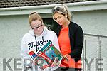 Coláiste Gleann Lí. Leaving Certificate exams on Friday. Pictured  , Sophie Barrett, and Michaela Harcehovinova