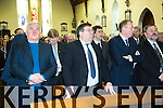 Jackie Healy-Rae Funeral - Requiem mass was in St Patrick's Church, Kilgarvan on Monday Former taoisigh Bertie Ahern and Brian Cowen were among those in attendance at the funeral