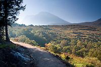 Ben Nevis from the Allt a Mhuilinn Trail, Torlundy, Lochaber