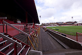 23/06/2000 Blackpool FC Bloomfield Road Ground..West stand and paddock from south west corner.....© Phill Heywood.
