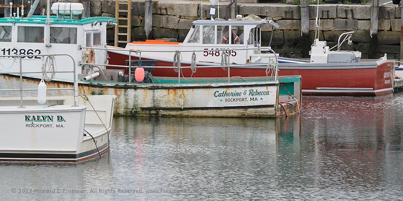 Fishing Boats, Rockport, 2012