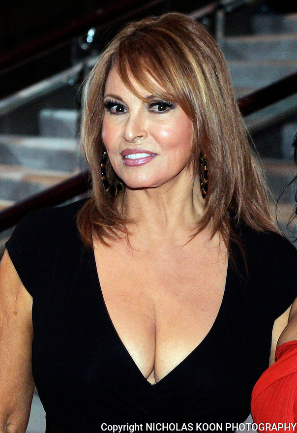 Raquel Welch at the Secegerstrom Center for the Arts Candlelilght Dinner.