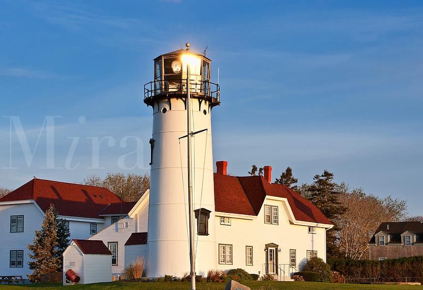Chatham Light and Coast Guard station, Chatham, Cape Cod, MA, USA